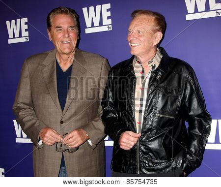 LOS ANGELES - MAR 19:  Chuck Woolery, Bob Eubanks at the WE tv Presents
