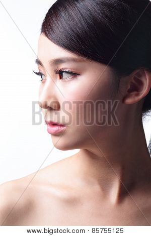 Woman Face Skin Problem
