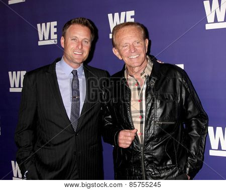LOS ANGELES - MAR 19:  Chris Harrison, Bob Eubanks at the WE tv Presents