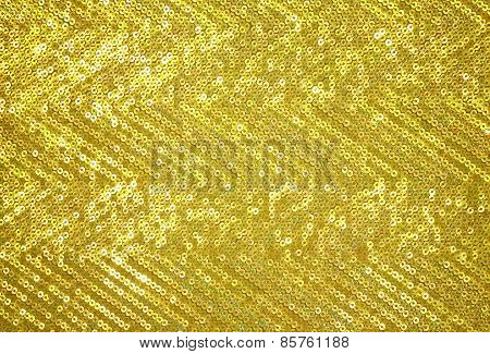 Gold Sparkle Glittering Background