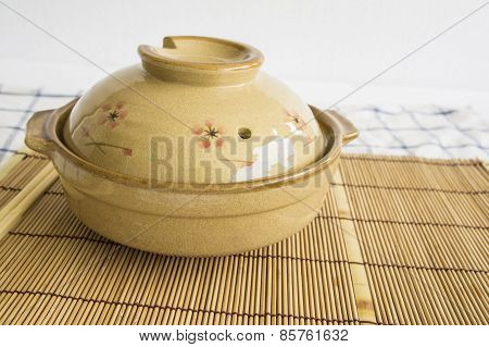 Bowl Pottery Soup Food Noodle Clay Cover Lunch Delicious Concept