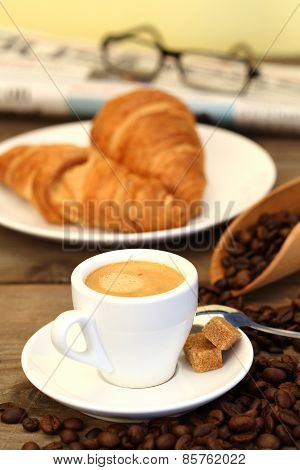 Coffee And Croissants