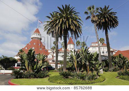Historic Hotel Del Coronado in San Diego