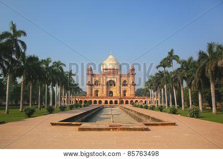 Tomb Of Safdarjung In New Delhi, India