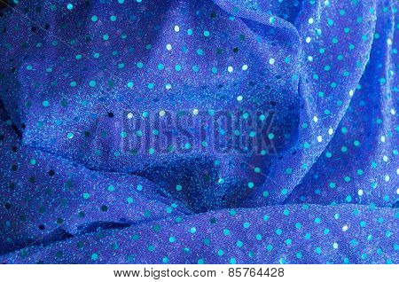 closeup of beautiful vibrant textile background