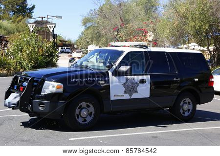 San Diego County Sheriff car