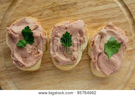 Meat Spread On Bread