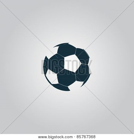 vector football ball - soccer