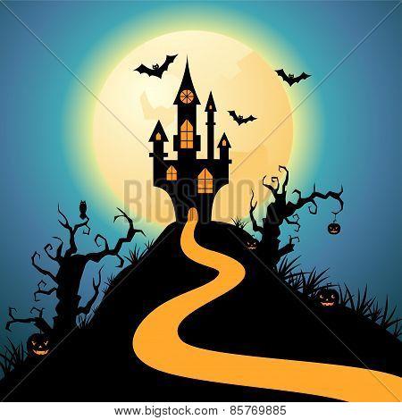 Halloween Night Castle