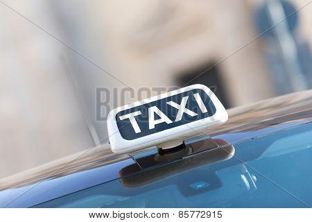 Italian taxi