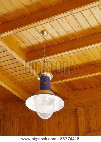 Maritime hanging lamp