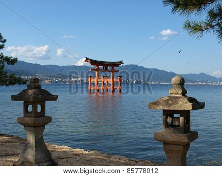 Great torii Itsukishima