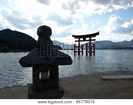 Great Torii Itsukishima near Hiroshima