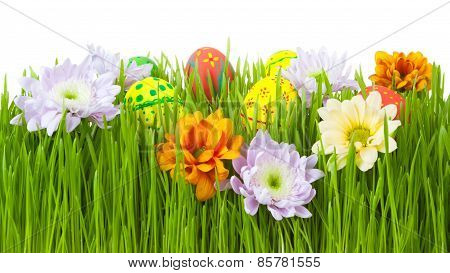 Spring mood for Easter, the feast of Easter eggs