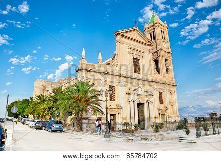 Parrocchia S. Nicola Di Bari church in Termini Imerese, Sicily, Italy.