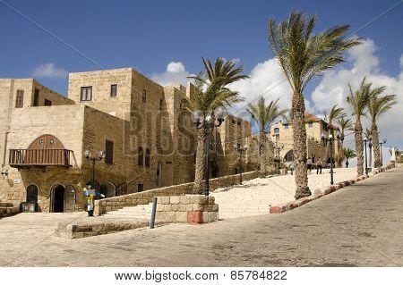 Old Street Of Jaffa