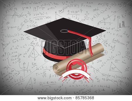 Graduation Cap And Mba