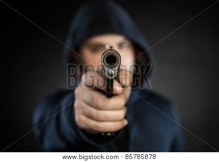 Killer With Gun