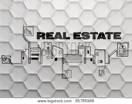 Wall With Real Estate