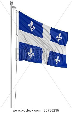 3D Quebec  Flag