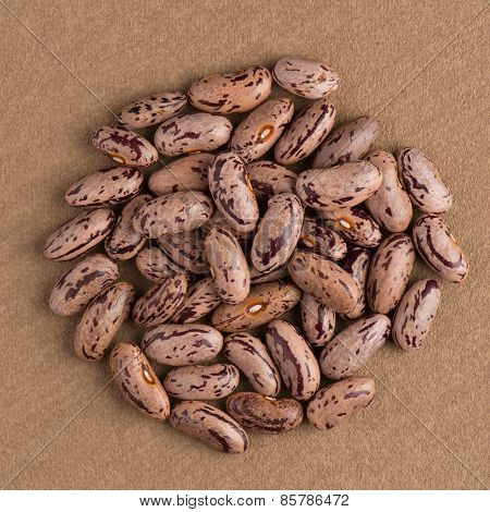 Circle Of Pinto Beans