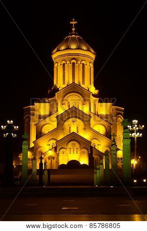 Holy Trinity Cathedral Of Tbilisi Sameba