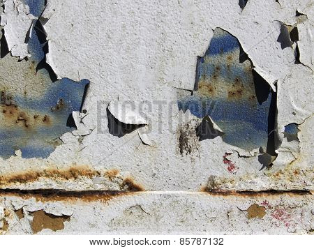 Peeling Paint And Rust