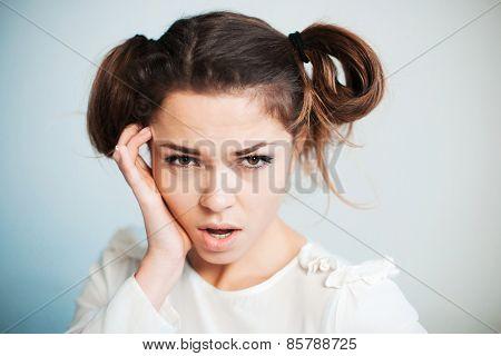 The Sad Woman With A Headache