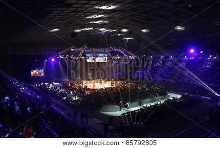 Palace Of Sports In Kyiv During