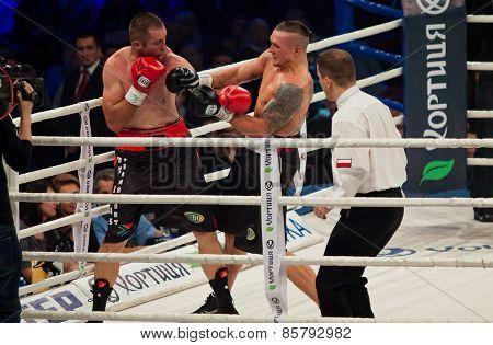 Boxing Fight Oleksandr Usyk Vs Danie Venter