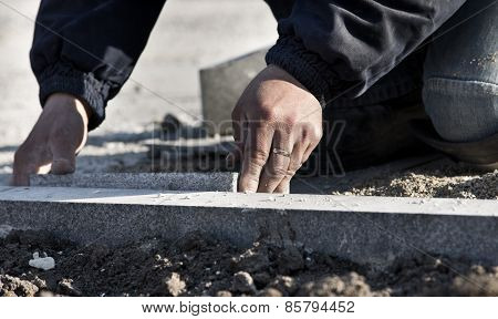 Paver's Hand Working