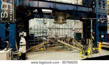Space Station Docking Machinery