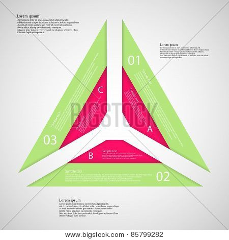 Triangle From Three Parts