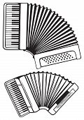 image of accordion  - Music instruments - JPG