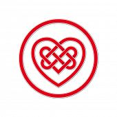 picture of celtic  - Celtic Knot Symbol of Eternal Love - JPG