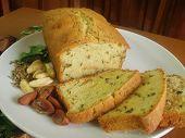 picture of moringa  - Banana Cake with Moringa leaves and Pili Nuts - JPG