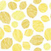 picture of scratch  - Yellow lemon vector pattern - JPG