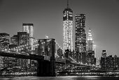 foto of brooklyn bridge  - Black  - JPG