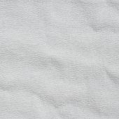 stock photo of bast  - White wisp of bast cloth texture background - JPG