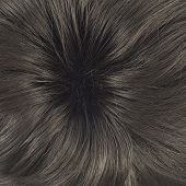 image of hair dye  - Open wave hair fragment as a texture background composition - JPG