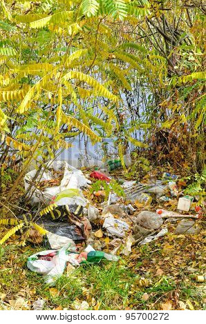 Trash Close To The River