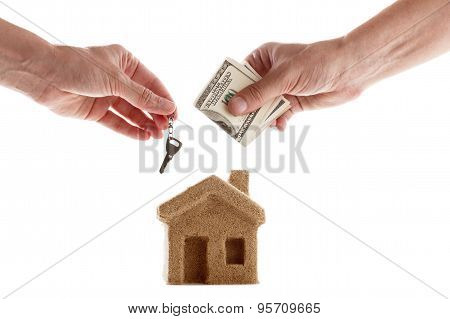 Symbol Of The House Rent And Sale