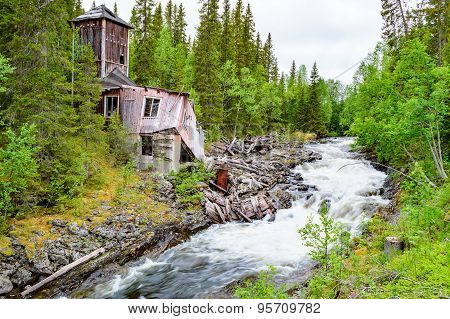 Ruin Near River