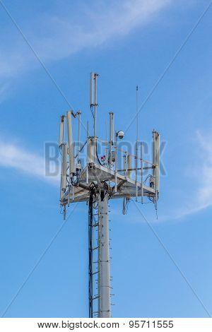 Cell Phone And Communications Tower