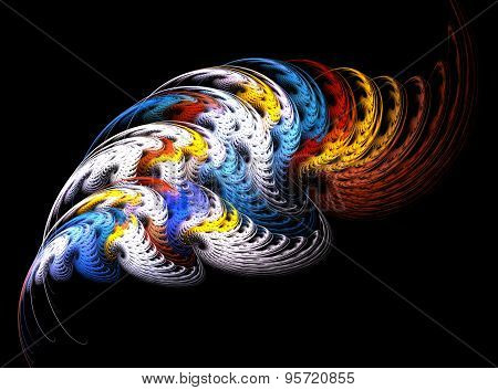 Abstract Fractal Design