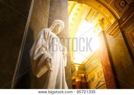 Statue In Saint Stephen's Basilica