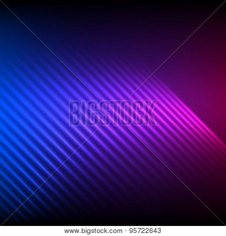 Northern Lights Effect Glowing Dark Background Poster Id95722643