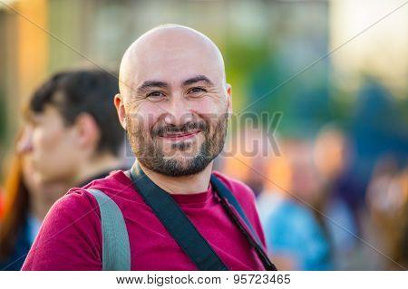 Cheerful Man.