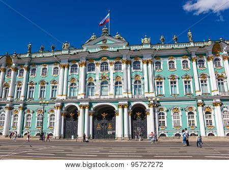 View Of Winter Palace