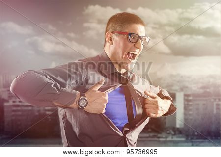 Businessman - Superhero